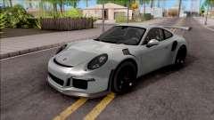 Porsche 911 GT3 RS 2016 SA Plate