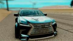 Lexus LX 570 para GTA San Andreas