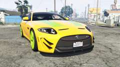 Jaguar XKR-S GT (X150) 2013 v1.1 [replace]