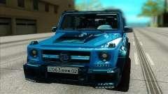 Mercedes-Benz G63 Brabus para GTA San Andreas