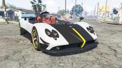 Pagani Zonda Cinque roadster 2009 [replace]