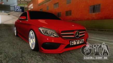 Mercedes-Benz C250 Stance para GTA San Andreas