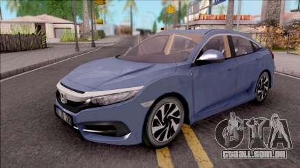 Honda Civic FC5 Low Poly with Led Lights para GTA San Andreas