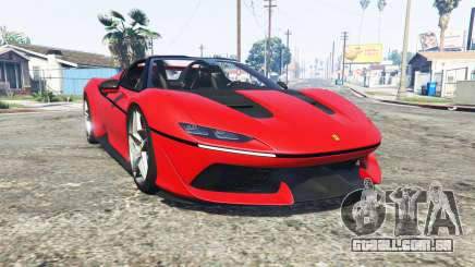 Ferrari J50 2017 [add-on] para GTA 5