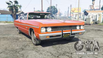 Plymouth Fury III 1969 [replace] para GTA 5
