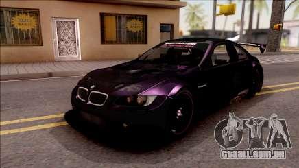 BMW M3 GT2 Itasha Mash Kyerlight Fate Apocrypha para GTA San Andreas
