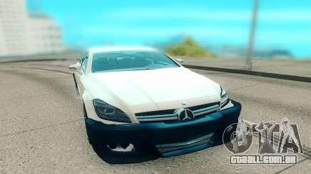 Mercedes-Benz CLS 63 AMG белый para GTA San Andreas