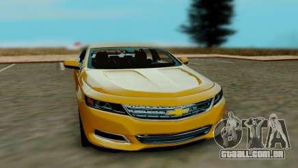 Chevrolet Impala 2018 para GTA San Andreas
