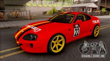 Toyota Supra Drift Falken Germany para GTA San Andreas