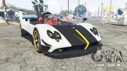 Pagani Zonda Cinque roadster 2009 [replace] para GTA 5