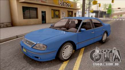 GTA IV Willard Solair Sedan IVF para GTA San Andreas