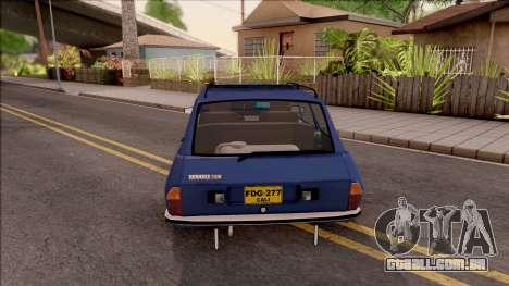 Renault 12 para GTA San Andreas