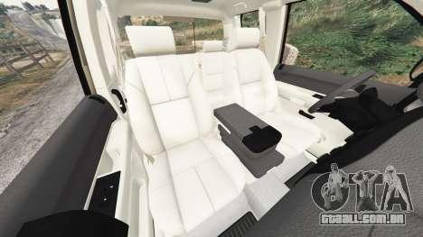 GTA 5 Chevrolet Silverado 1500 LT v0.5 [replace] vista lateral direita