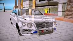 Bentley Bentayga para GTA San Andreas