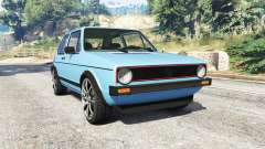 Volkswagen Golf GTI Mk1 [replace] para GTA 5