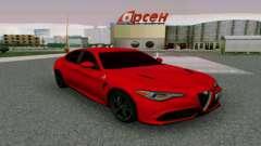 Alfa Romeo Giulia Borgonha para GTA San Andreas