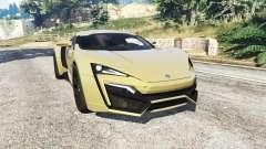 W Motors Lykan HyperSport 2014 v1.3 [add-on]