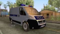 Citroen Jumper Polskiej Policji para GTA San Andreas