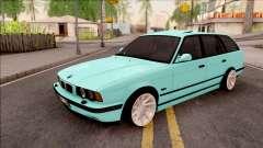 BMW 5-er E34 Touring Stance Vossen