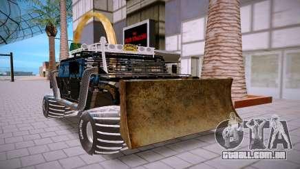 Hummer, H3, preto para GTA San Andreas
