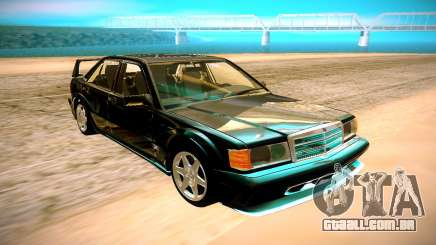 1990 Mercedes-Benz 190E Evolution II para GTA San Andreas