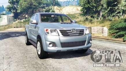 Toyota Hilux Double Cab 2012 [replace] para GTA 5