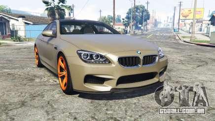 BMW M6 Coupe (F13) [replace] para GTA 5