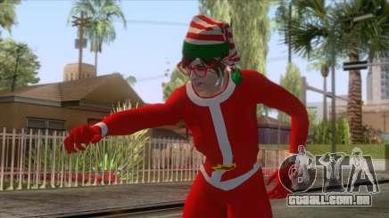 GTA Online - Sexy Christmas Skin para GTA San Andreas