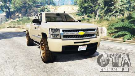 Chevrolet Silverado 1500 LT v0.5 [replace] para GTA 5
