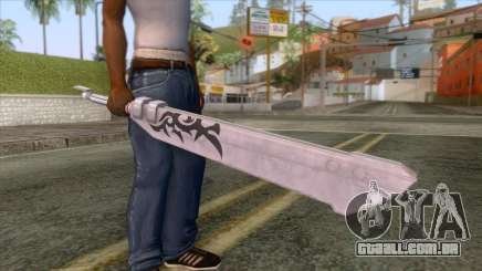 Final Fantasy Mobius - Blank Sword para GTA San Andreas