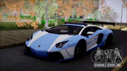 Lamborghini Aventador v2 para GTA San Andreas