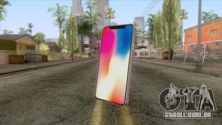iPhone X Black para GTA San Andreas