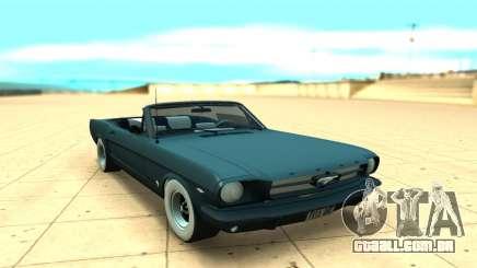Ford Mustang Convertible para GTA San Andreas