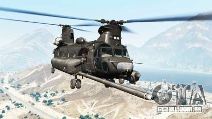 Boeing MH-47G Chinook [replace] para GTA 5