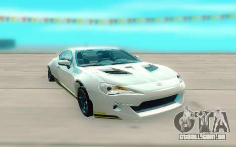 Toyota GT86 RB Ft Rotiform Permaisuri para GTA San Andreas