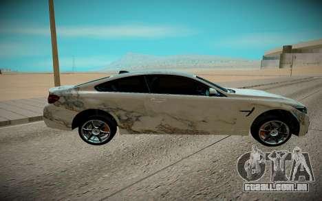 BMW M4 TR para GTA San Andreas esquerda vista
