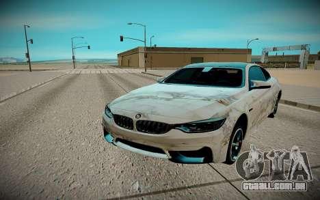 BMW M4 TR para GTA San Andreas vista direita