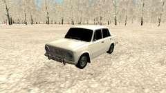 VAZ 2101 branco para GTA San Andreas