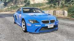 BMW M6 (E63) WideBody Pagid RS v0.3 [replace] para GTA 5