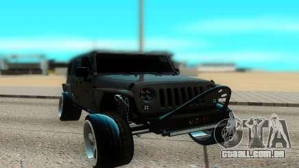Jeep Rubicon 2012 V3 para GTA San Andreas