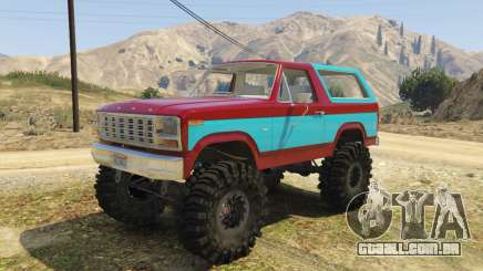 Ford Bronco MudSlinger 1980 para GTA 5