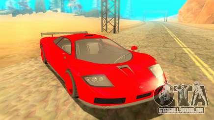 Progen GP1 LM GTR para GTA San Andreas