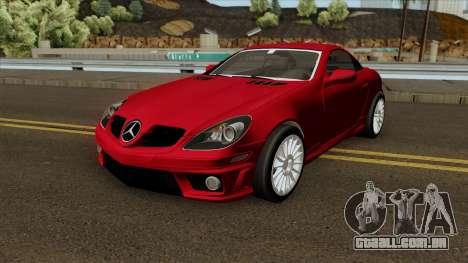 Mercedes-Benz SLK 55 AMG para GTA San Andreas