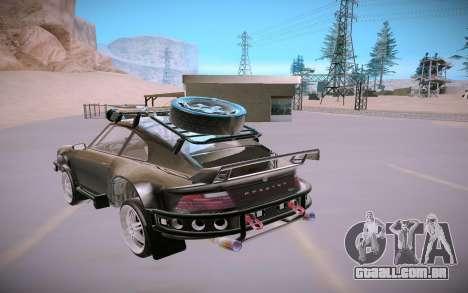 GTA V Pfister Comet Safari para GTA San Andreas vista traseira