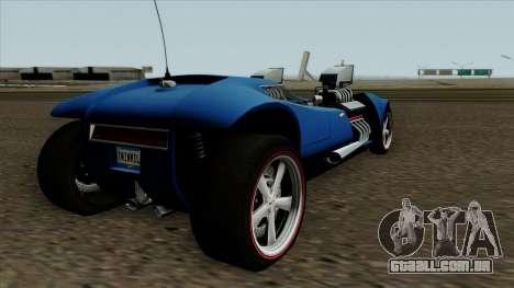 Hot Wheels Twin Mill RC Car 1969 para GTA San Andreas