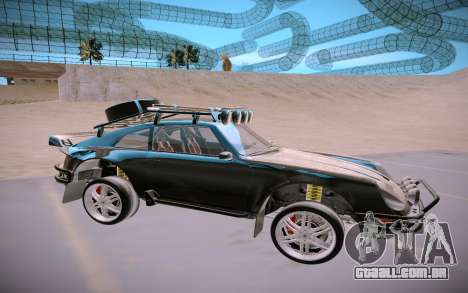 GTA V Pfister Comet Safari para GTA San Andreas traseira esquerda vista