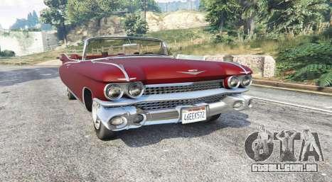 Cadillac Eldorado Biarritz 1959 v1.1 [replace]