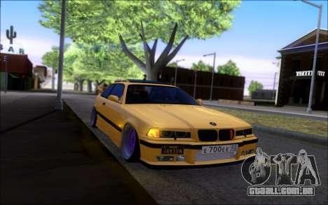 BMW M3 E36 Hamann para GTA San Andreas vista direita