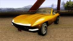 Driver PL San Marino Spyder para GTA San Andreas