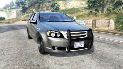 Chevrolet Caprice Unmarked Police v2.0 [replace] para GTA 5